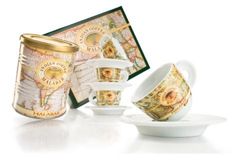 Caffè Malabar Prodotti Casa Tazzine Indian Coffee
