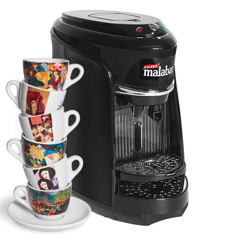 Caffè Malabar Macchinetta Espresso Capsule Compatibili